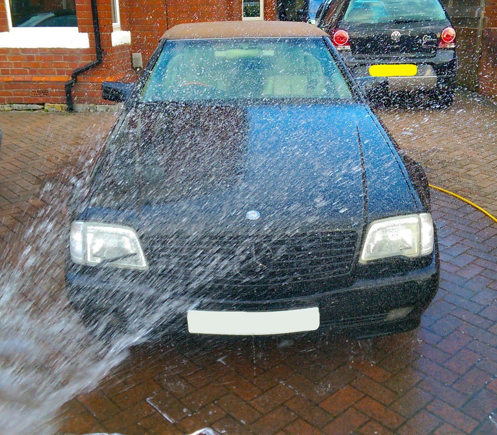 best car washing technique to avoid swirl marks