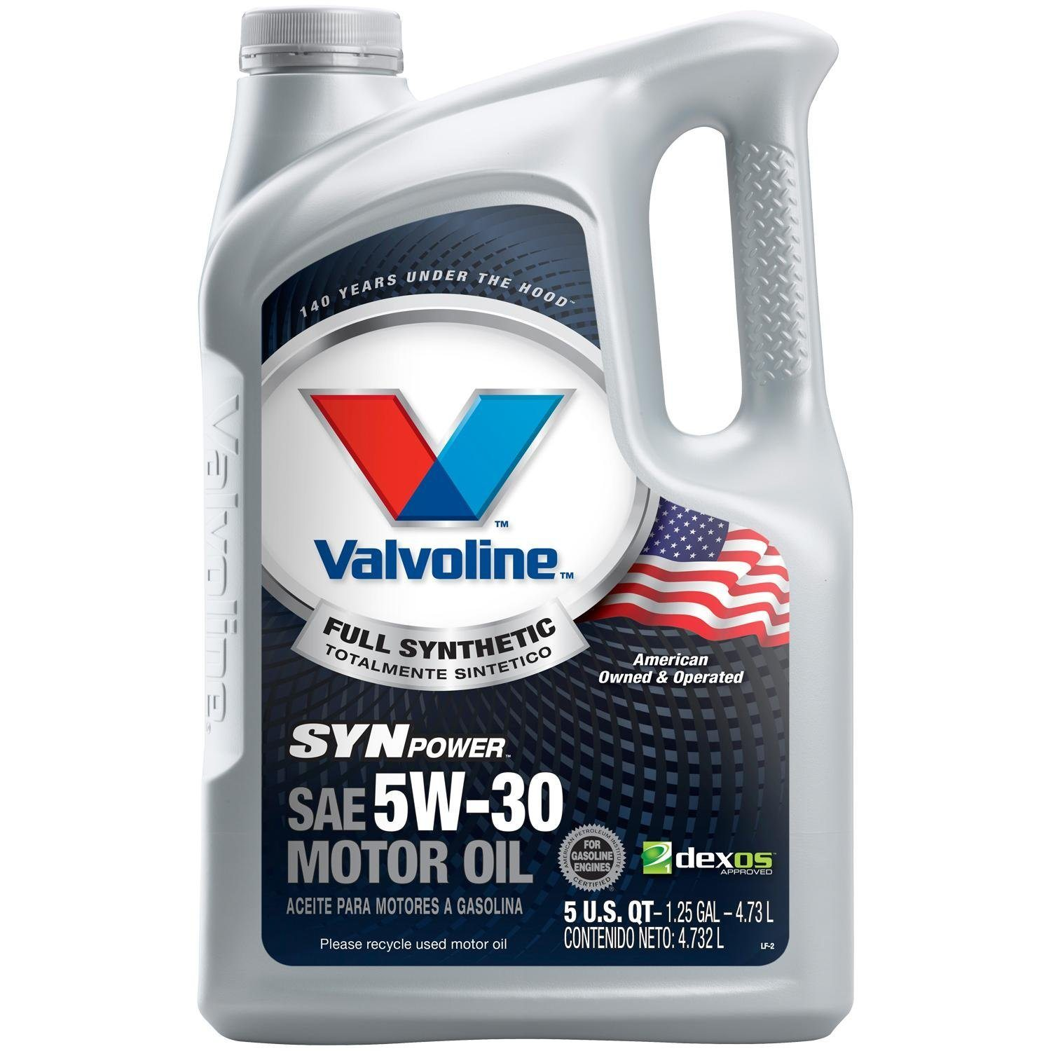 Shop for Valvoline Motor Oil in All Motor Oil. Buy products such as Valvoline™ High Mileage with MaxLife™ Technology SAE 5W Synthetic Blend Motor Oil - Easy Pour 5 Quart at Walmart and save.