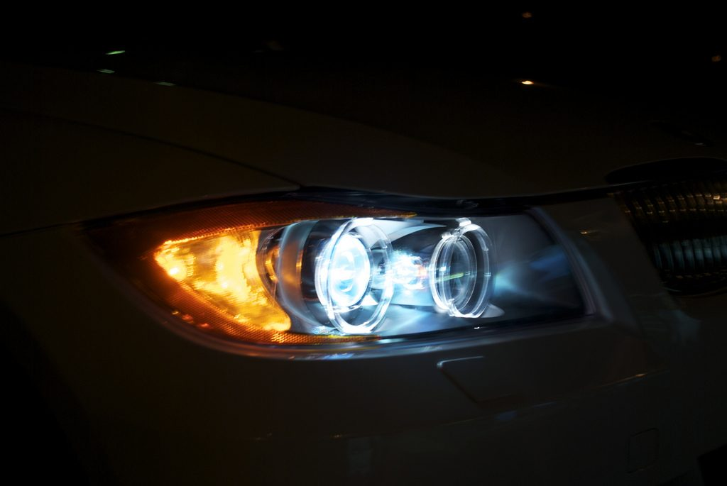 headlight makes the car feel fully customizable and personalized  the  brightness of the xenon beams also means that the color you choose won't  affect
