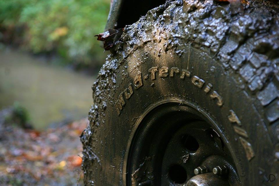 All Terrain Mud Tire