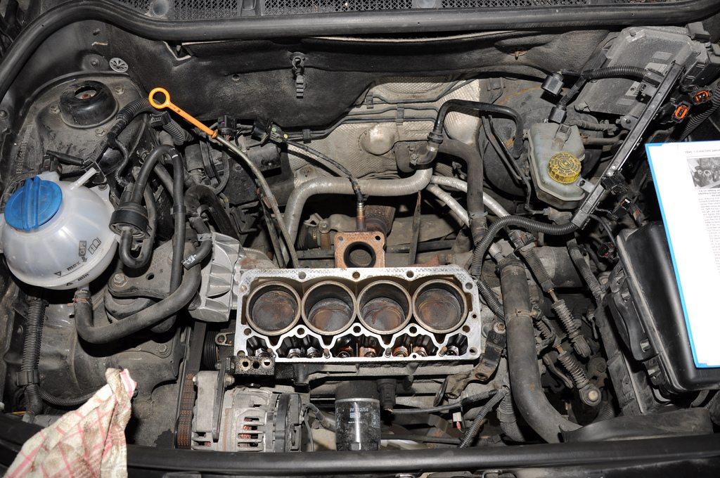 fix a blown head gasket