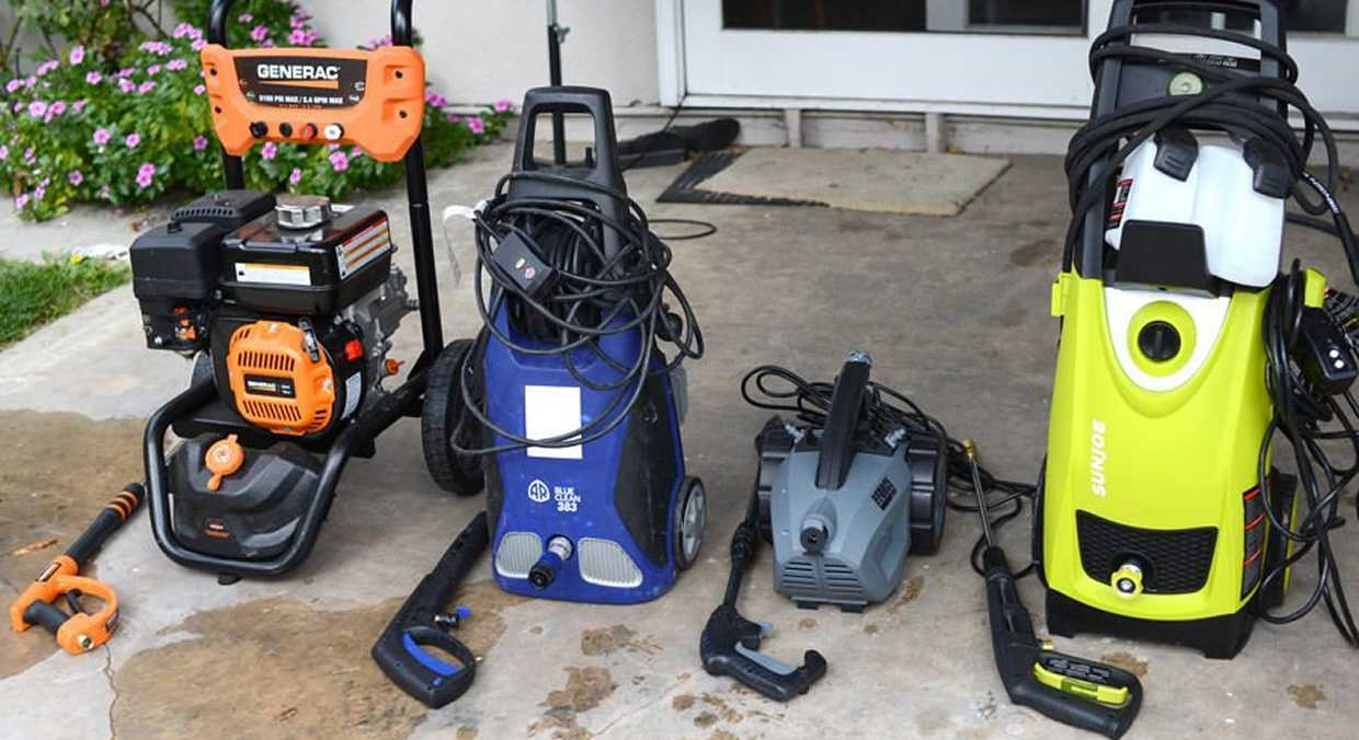 Best Pressure Washer For Cars 2020 Electric Power Washers