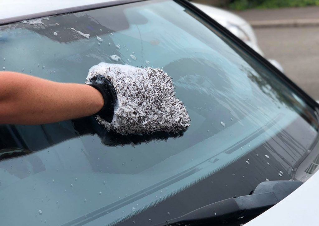 Car Wash Mitt Sponge