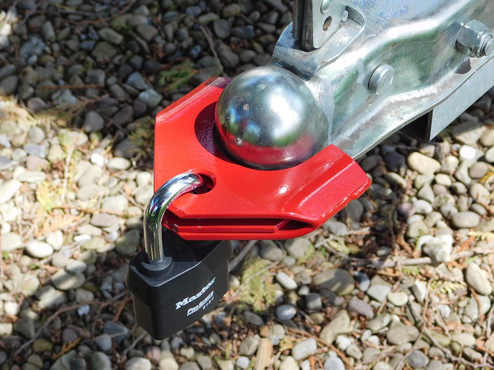 tow hitch lock