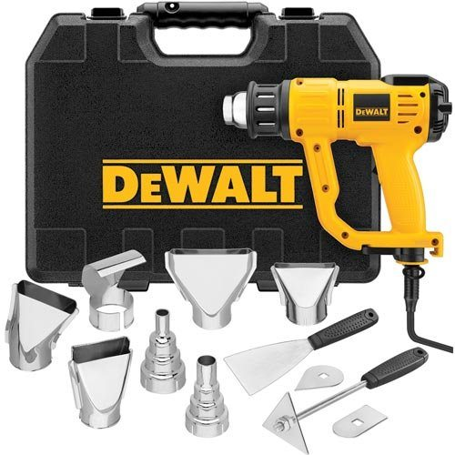 best heavy duty heat gun by Dewalt