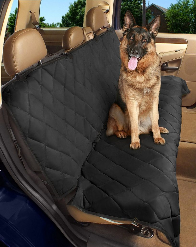 The Epica Dog Car Seat Cover Is Designed To Attach Cars Belts In Order Secure Within Back This
