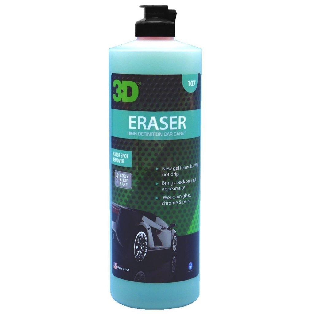 Eraser Water Spot Remover Car Glass Review