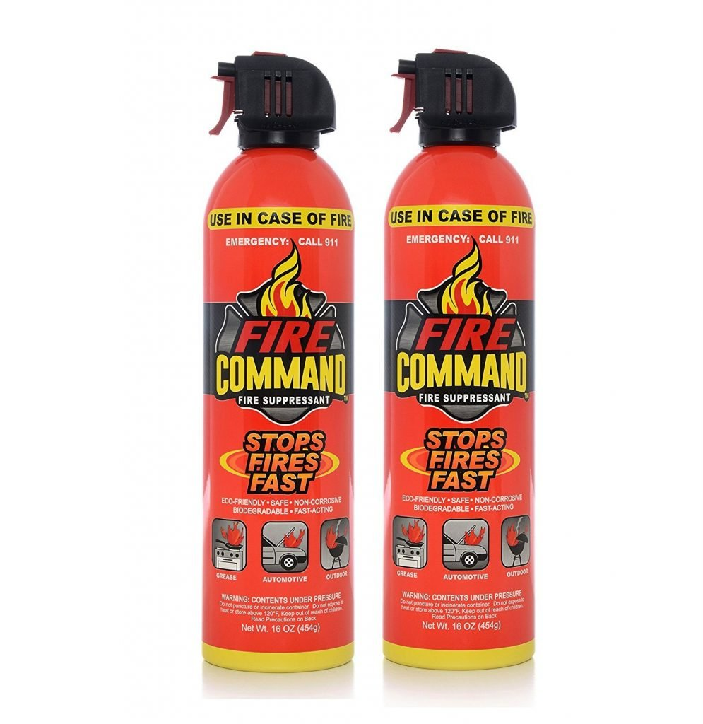 aerosol fire extinguisher for car