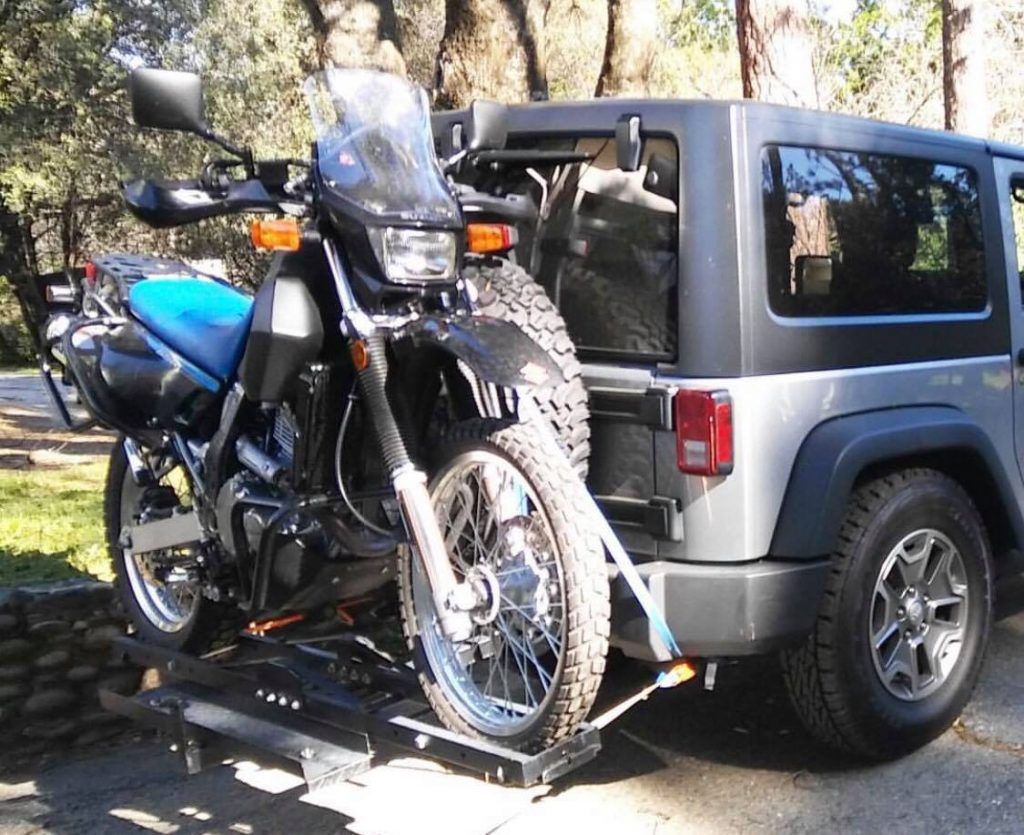 Hitch Mount Motorcycle Carrier