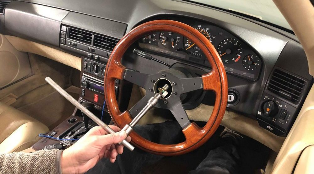 How To Remove Steering Wheel
