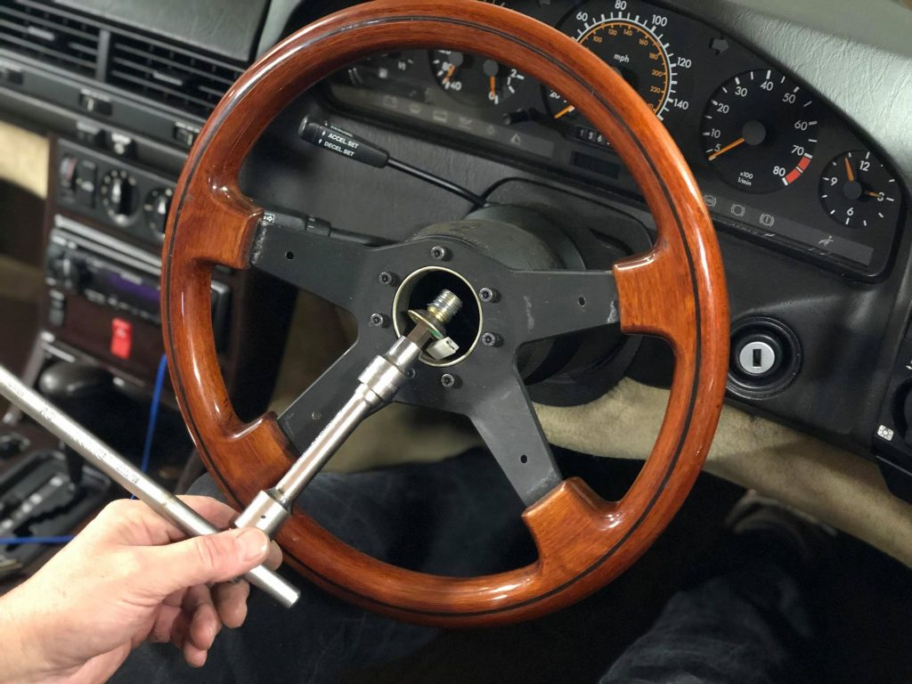 How To Take Off Steering Wheel