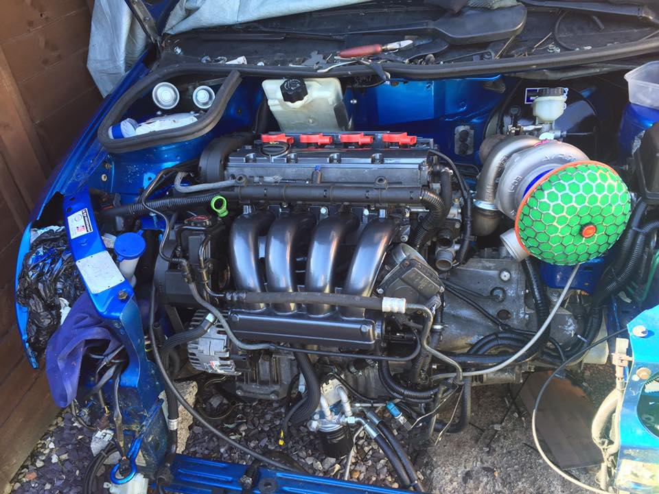 turbo and air filter for more bhp