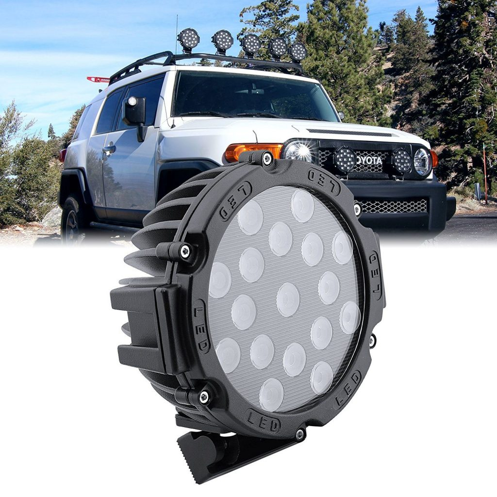 Schon Circle Off Road Lights By OLS