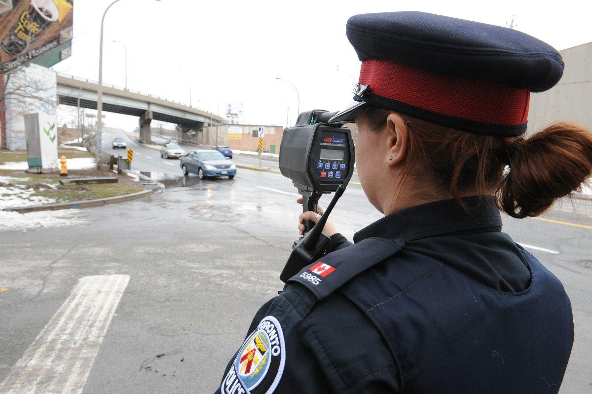 Police Laser Gun