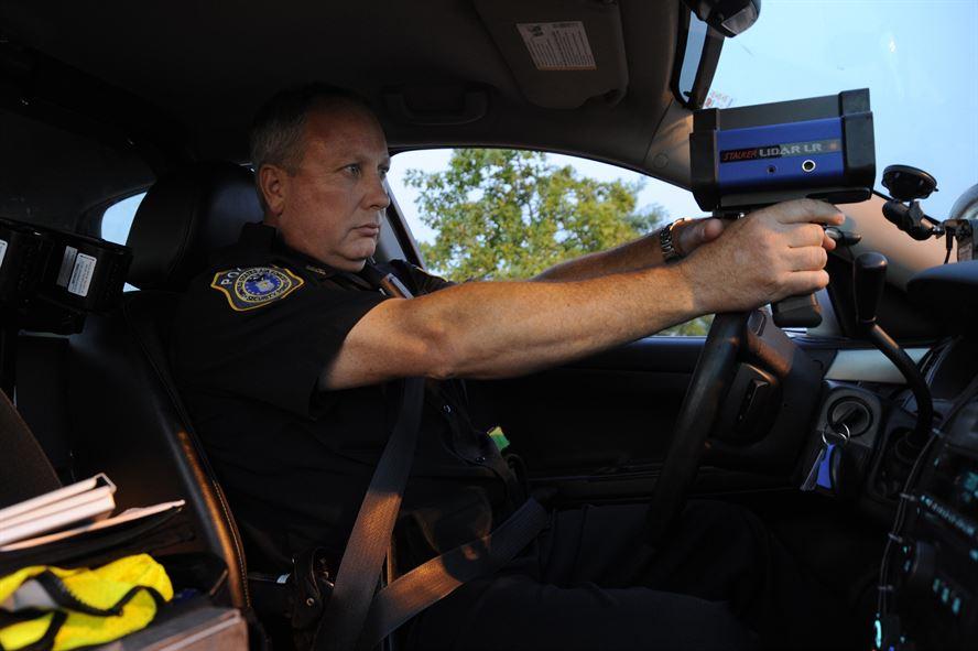 how does a police radar work