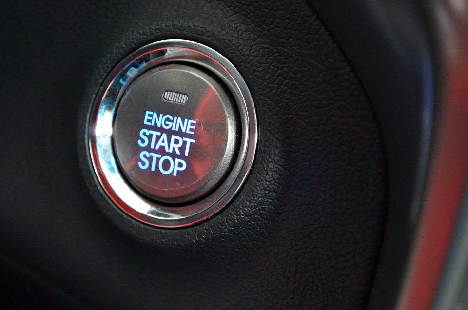 push to start button not working