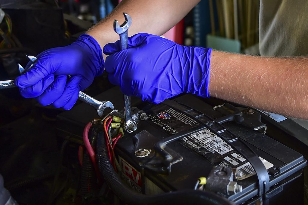 installing RV Battery