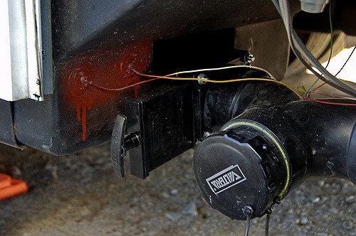 rv sewer hose fitting