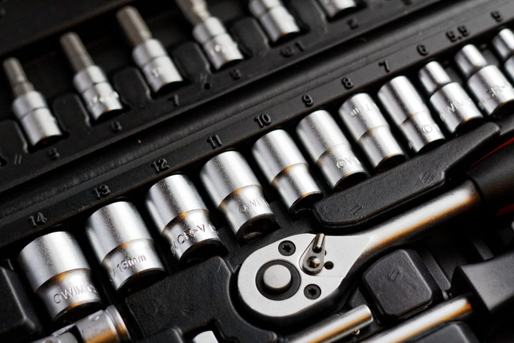 Socket Set For Car Maintenance