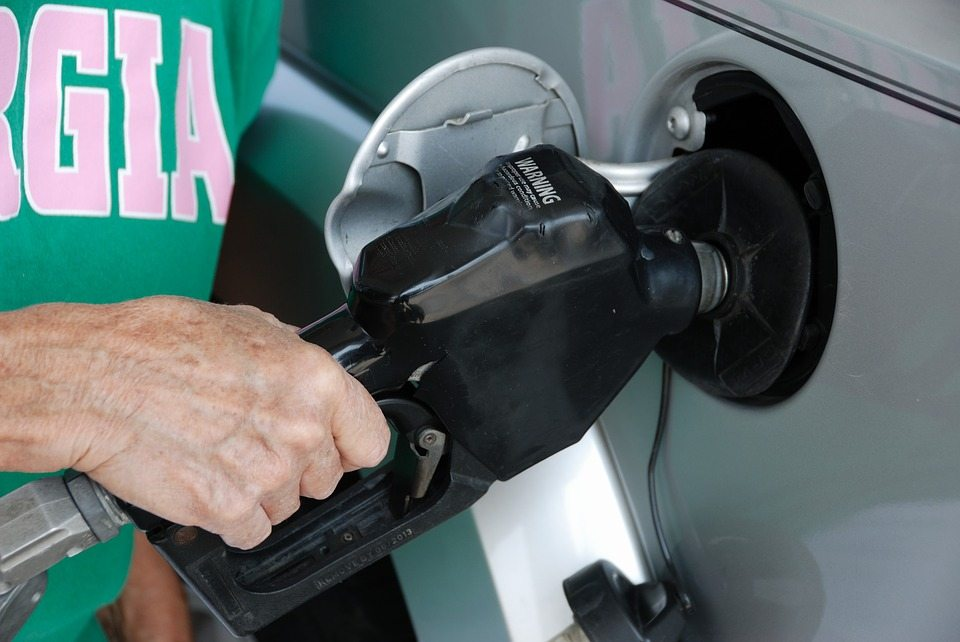 increase fuel in your tank when filling up
