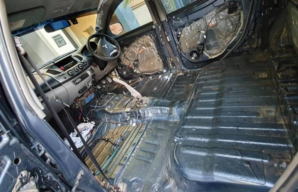 automotive insulation and sound deadening