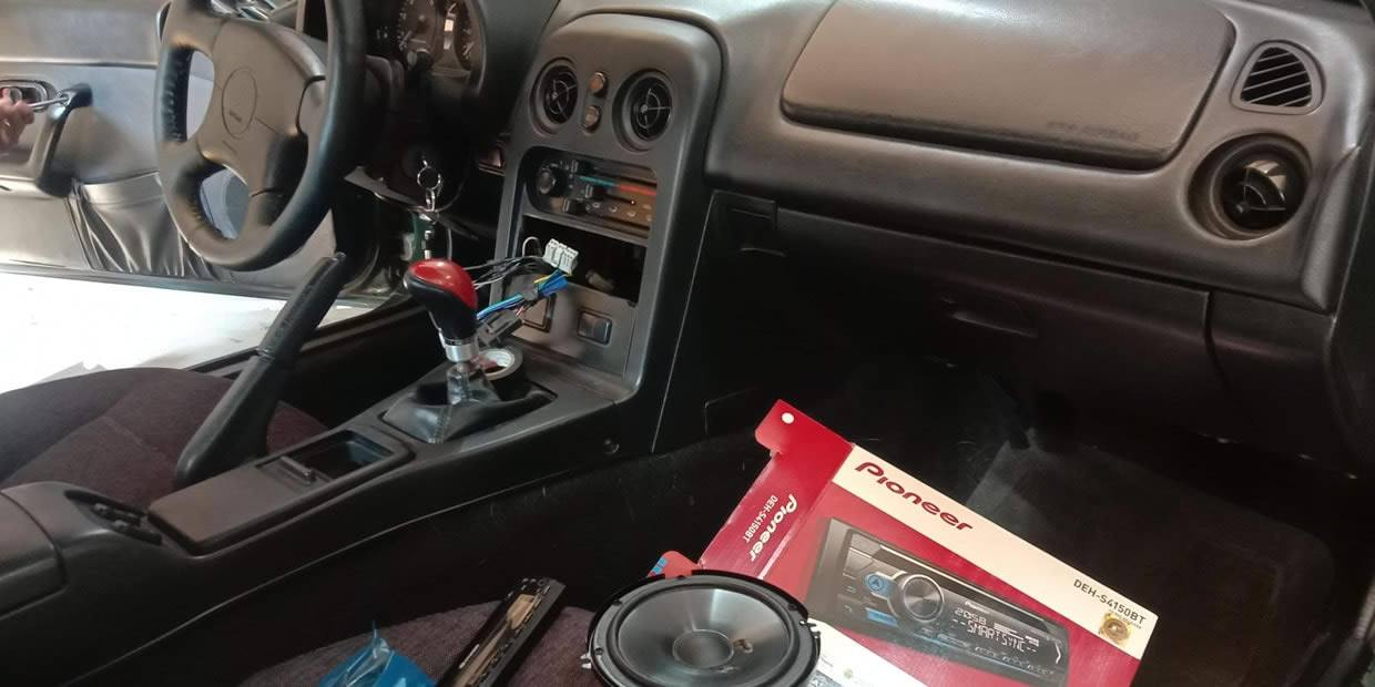 how to install a single din stereo