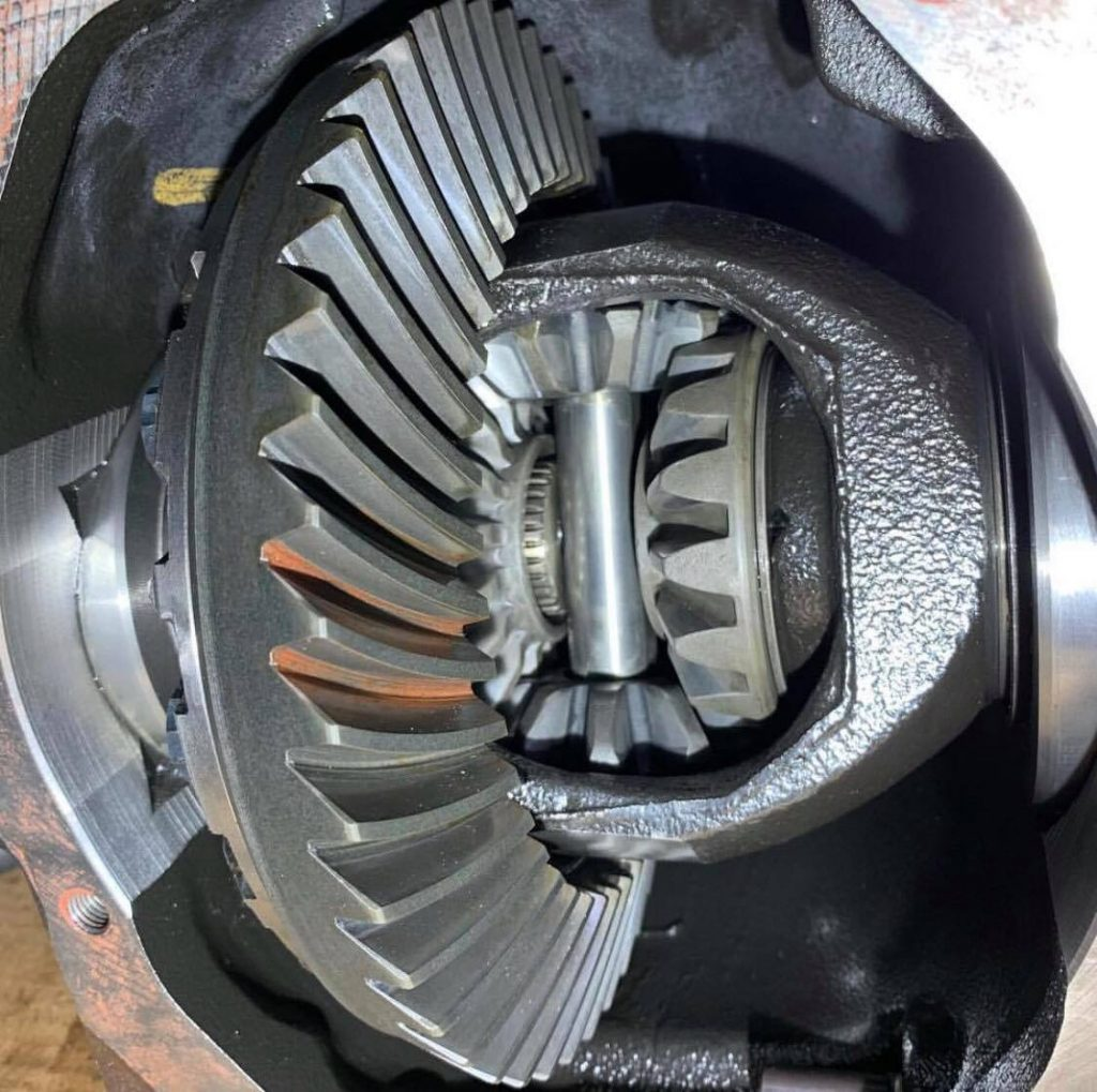 welded differential